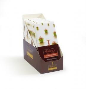 Mliečna čokoláda s lieskovými orieškami Balance , Velikost balení - 100g