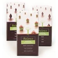 Mliečna čokoláda s lieskovými orieškami so stévií Balance , Velikost balení - 85g