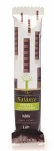 Mliečna čokoláda zo stévií Balance , Velikost balení - 35g