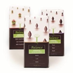 Mliečna čokoláda so stévií Balance , Velikost balení - 85g