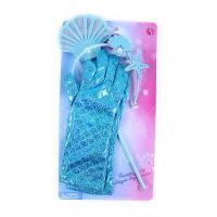 Mořská víla s rukavicemi , Barva - Tyrkysová