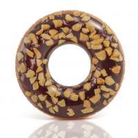 Nafukovací kruh Donut , Barva - Hnedá