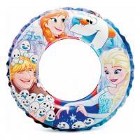 Nafukovací kruh Frozen , Barva - Modrá