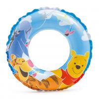 Nafukovací kruh Medvídek Pú , Barva - Modro-žltá