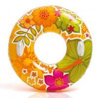 Nafukovací kruh s úchyty Hawaii , Barva - Oranžová
