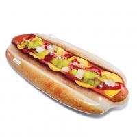 Nafukovací lehátko Hotdog , Barva - Barevná