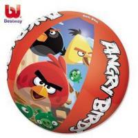 Nafukovací míč Angry Birds , Barva - Červená