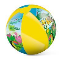 Nafukovací míč džungle 50 cm , Barva - Barevná