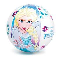 Nafukovací míč Frozen , Barva - Světlo modrá
