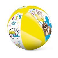 Nafukovací míč lama a kamarádi 50 cm , Barva - Barevná