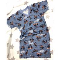 Noční košile Cross jeans , Barva - Šedo-modrá , Velikost - 122