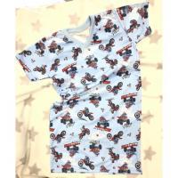 Noční košile Cross , Velikost - 140 , Barva - Světlo modrá