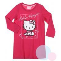 Nočná košeľa Hello Kitty , Barva - Malinová , Velikost - 98