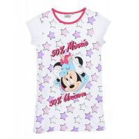 Nočná košeľa Minnie , Velikost - 104 , Barva - Biela