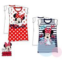 Nočná košeľa Minnie Mouse , Barva - Červená , Velikost - 116