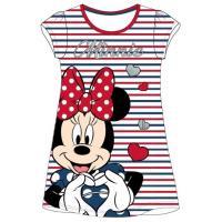 Nočná košeľa Minnie Mouse , Barva - Červeno-modrá , Velikost - 122