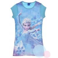 Noční košile Ledové Království , Velikost - 104 , Barva - Tyrkysová