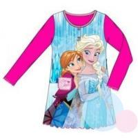 Noční košile Ledové Království , Velikost - 98 , Barva - Malinová