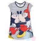 Noční košile Minnie , Barva - Tmavo modrá , Velikost - 98