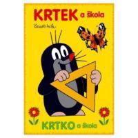 Omalovánka A5 Krtek a škola , Barva - Žltá