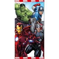 Osuška Avengers Agenti S.H.I.E.L.D. , Barva - Barevná , Rozměr textilu - 70x140