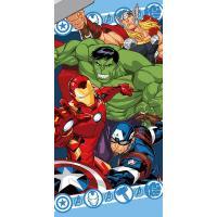 Osuška Avengers hrdinovia , Barva - Barevná , Rozměr textilu - 70x140