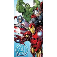 Osuška Avengers Marvel , Barva - Barevná , Rozměr textilu - 70x140