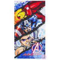 Osuška Avengers micro , Barva - Modrá , Velikost - 70x140cm