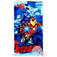 Osuška Avengers Marvel , Barva - Modrá , Rozměr textilu - 75x150