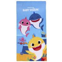 OSUŠKA BABY SHARK , Barva - Barevná , Rozměr textilu - 70x140