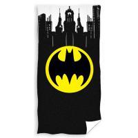 Osuška Batman Gotham City , Rozměr textilu - 70x140 , Barva - Čierna
