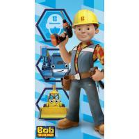 Osuška Bob Staviteľ , Barva - Modrá , Velikost - 70x140cm