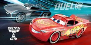 Osuška Cars Disney , Barva - Šedo-červená , Rozměr textilu - 70x140