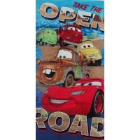 Osuška Cars Disney , Barva - Barevná , Rozměr textilu - 70x140