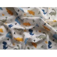 Osuška Dinosaurus , Barva - Barevná , Rozměr textilu - 90x100