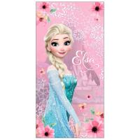 OSUŠKA FROZEN Elsa , Barva - Ružová , Rozměr textilu - 70x140
