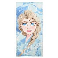 OSUŠKA FROZEN Elsa , Barva - Tyrkysová , Rozměr textilu - 70x140