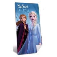 OSUŠKA Frozen Disney , Barva - Modrá , Rozměr textilu - 70x140