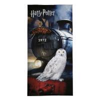 Osuška Harry Potter expres , Barva - Antracitová , Rozměr textilu - 70x140