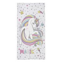 Osuška Jednorožec Magic , Barva - Barevná , Rozměr textilu - 70x140