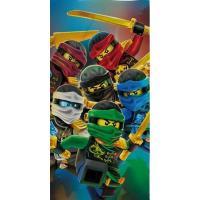 Osuška Lego Ninjago Meče , Barva - Barevná , Rozměr textilu - 70x140