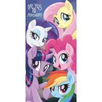 Osuška My Little Pony , Rozměr textilu - 70x140 , Barva - Fialová