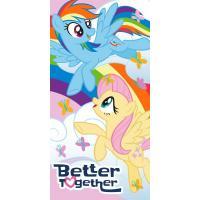 Osuška My Little Pony Better , Barva - Barevná , Rozměr textilu - 70x140
