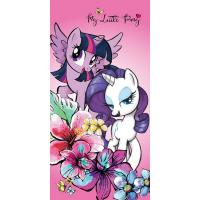 Osuška My Little Pony Friendship adventure , Barva - Ružová , Rozměr textilu - 70x140