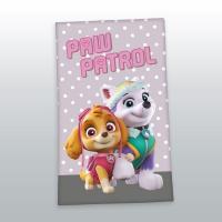 Osuška Paw Patrol grey , Barva - Šedá , Rozměr textilu - 70x140