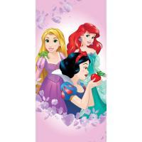 Osuška Princezny Ariela, Locika, Sněhurka , Rozměr textilu - 70x140 , Barva - Svetlo fialová