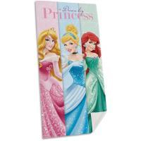 Osuška Princezny Ariela, Popelka, Růženka , Rozměr textilu - 70x140 , Barva - Barevná