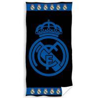 Osuška Real Madrid Blue Black , Barva - Černo-modrá , Rozměr textilu - 86x160