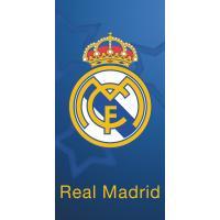 Osuška Real Madrid Blue Stars , Barva - Modrá , Rozměr textilu - 70x140