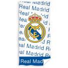 Osuška Real Madrid Letras , Barva - Bielo-modrá , Rozměr textilu - 75x150